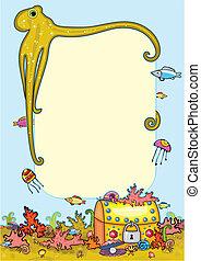 Bottom Sea Treasure Octopus