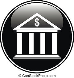 bottone, banca