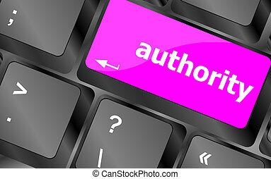 bottone, chiave calcolatore, autorità, tastiera