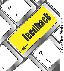 bottone, computer, feedback, chiave, tastiera
