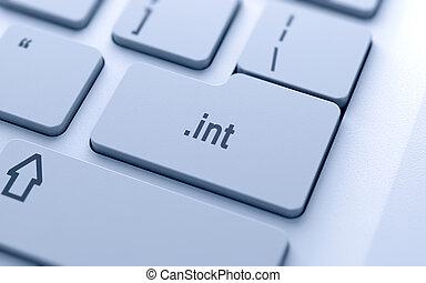 bottone, nome dominio