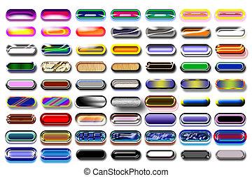 bottoni, 10, illustrazione