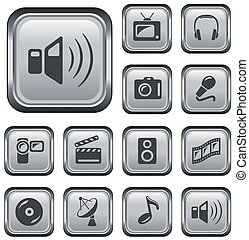 bottoni, multimedia