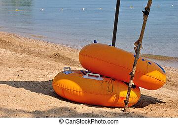 bouée, plage