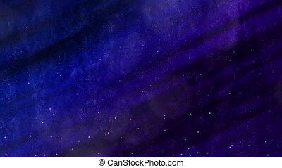 boucle, bleu-violet, merveilleux