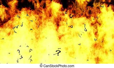 boucle, brûlé, questions