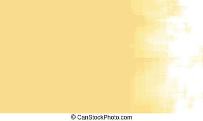 boucle, jaune, rr7y, géométrique