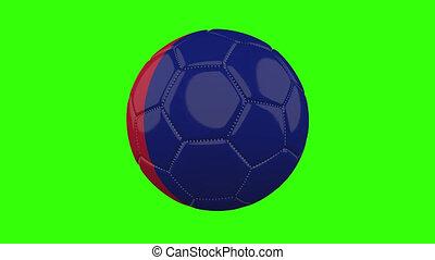 boucle, vert, alpha, transparent, tourne, balle, drapeau, ...