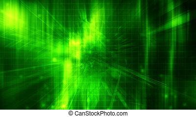 boucle, xr4872d, technologie de pointe, vert