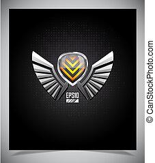 bouclier, ailes