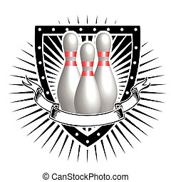 bouclier, bowling