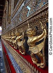 bouddha émeraude, temple