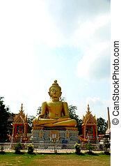 bouddha, temple