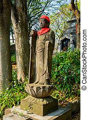 bouddha, ueno parc, statue