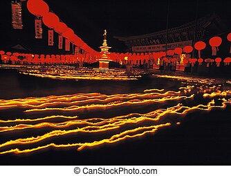 bouddhisme, événement