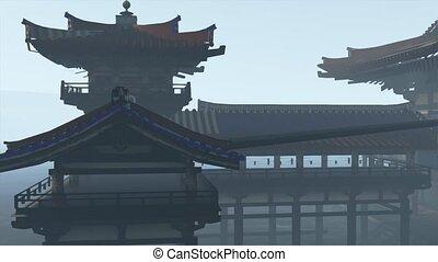 bouddhisme, zen, temple