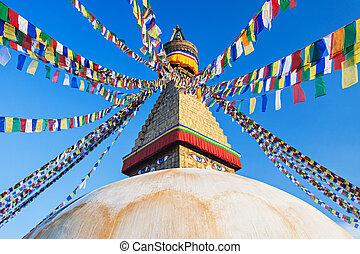 Boudhanath stupa, Kathmandu - Boudhanath (also called...