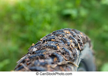 boueux, pneu vélo