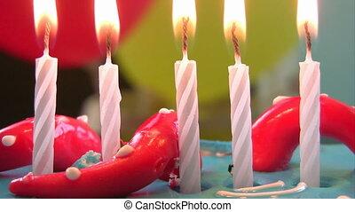 bougie, anniversaire