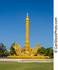bougie, thaï, sculpture art