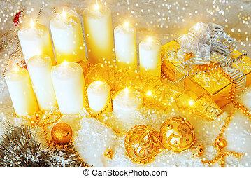 bougies, balles