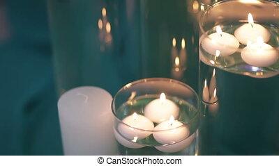 bougies, flacons