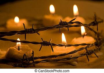 bougies, liberté