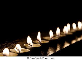 bougies, rang