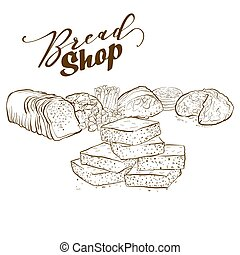 boulangerie, produits, collection