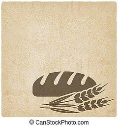 boulangerie, symbole, pain