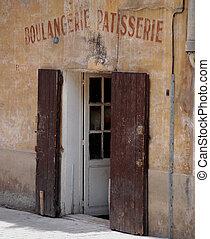 Boulangeriz, patisserie - Old bakerie store in the provence...