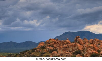 Boulder Canyon - Boulder canyon panorama