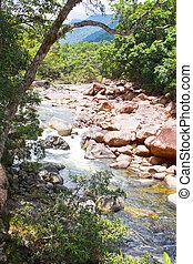 Boulders at Mossman George Queensland Australia