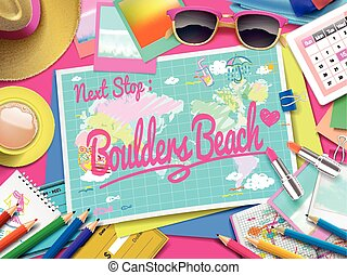 Boulders Beach on map