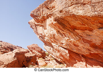 Boulders of Red Rock