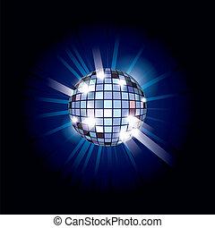 boule bleue, disco