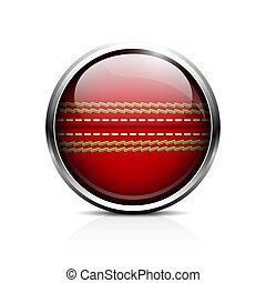 boule cricket, icône