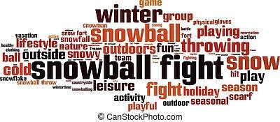 boule de neige, fight-horizon