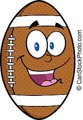 boule football, américain