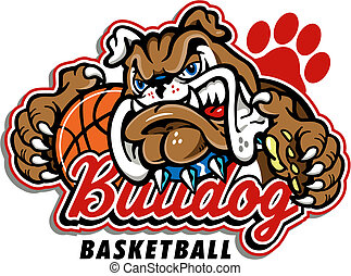 bouledogue, basket-ball, conception