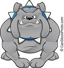 bouledogue, dessin animé