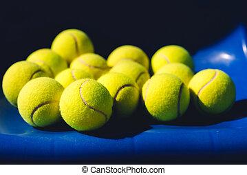 boules tennis, fond