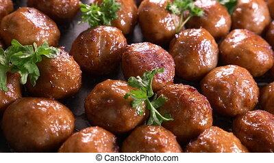 boulettes viande, délicieux