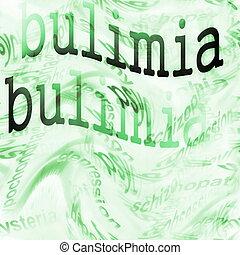 boulimie, concept