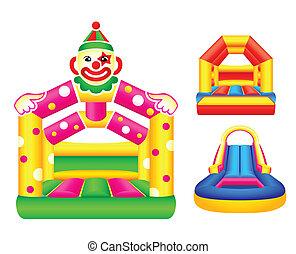 Bouncing castles - Bouncing or jumping castles design