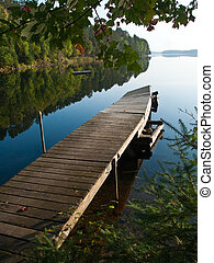 Boundary Waters Morning - A calm morning on a northern ...