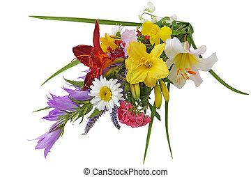 bouquet, été, fleur