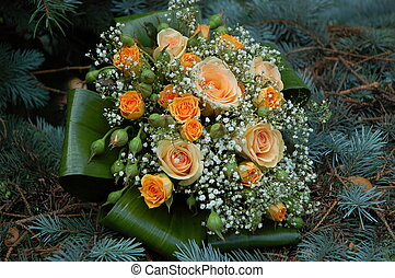 bouquet, 1, mariage