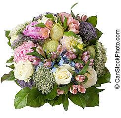 bouquet, 2, mariage