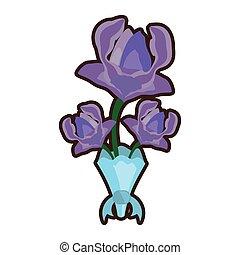 bouquet anemone flower ornament image